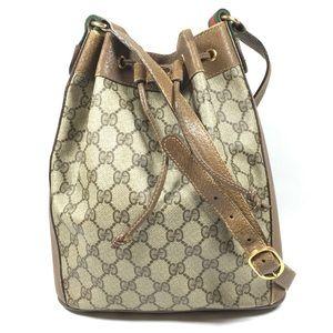 Authentic Gucci Drawstring Shoulder Bag